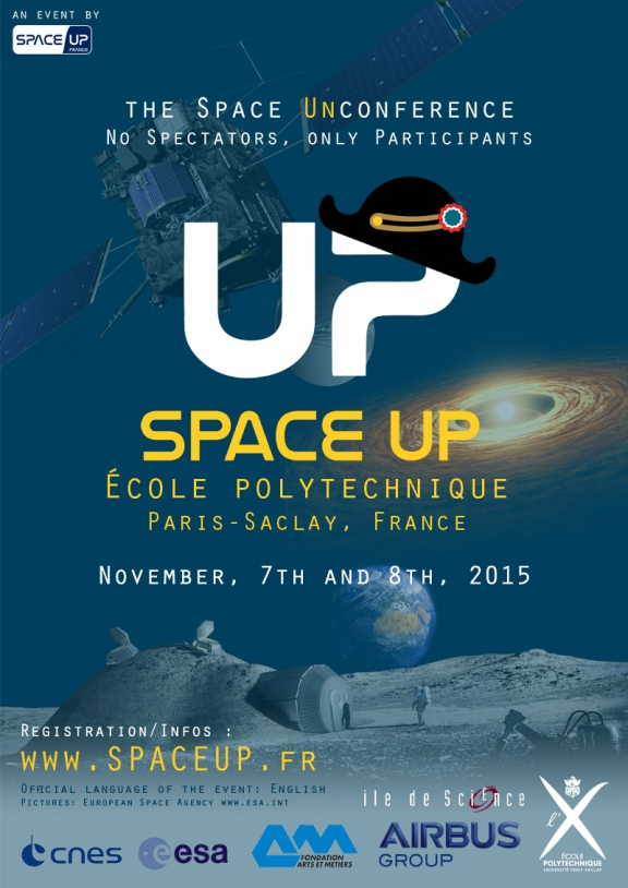 Space Up X - Affiche