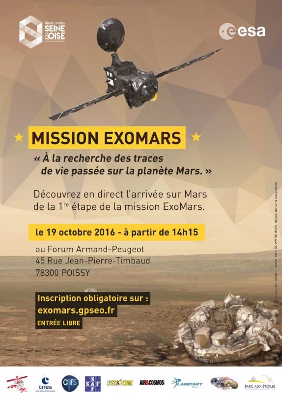 Mission ExoMars à Poissy
