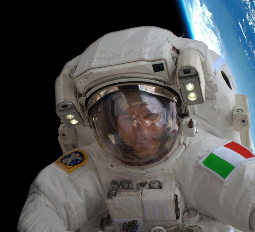 Luca Parmitano, astronaute italien de l'ESA