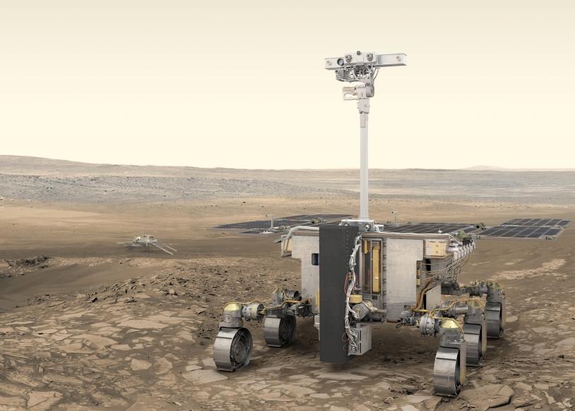 Le rover d'ExoMars