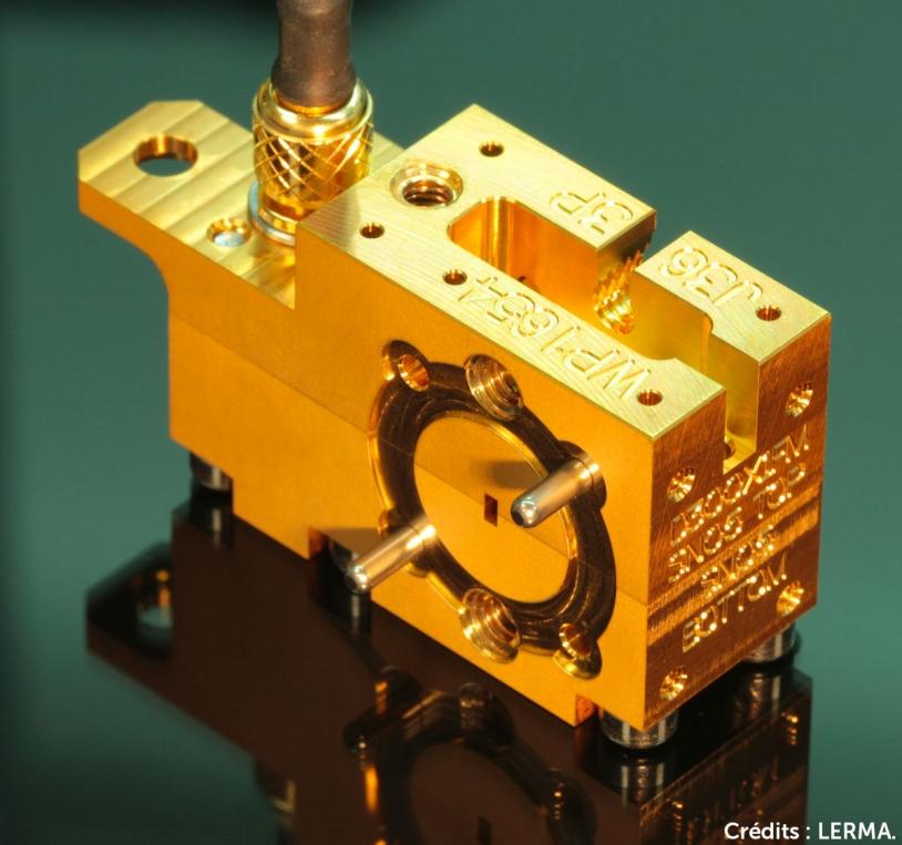 Doubleur 300 GHz du radiotélescope SWI de la sonde JUICE