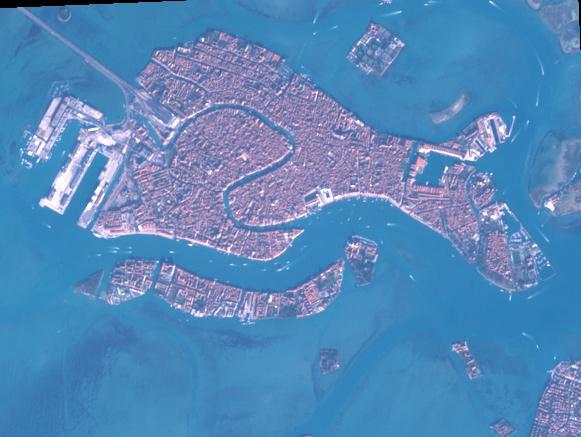 Venise par Sentinel-2 le 01/01/2020