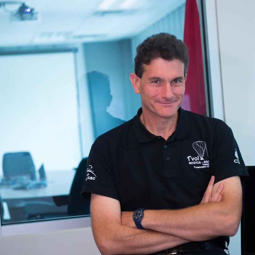 Vincent Dubourg, sous-directeur Ballons au CNES.
