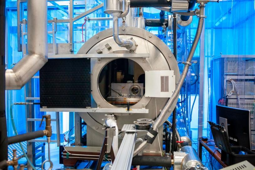 SuperCam en essais thermiques sous vide