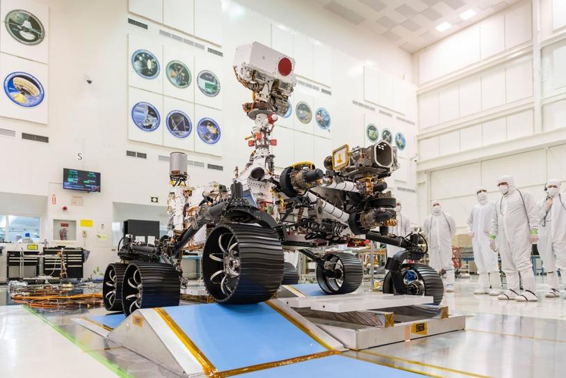 Le rover Perseverance en décembre 2019