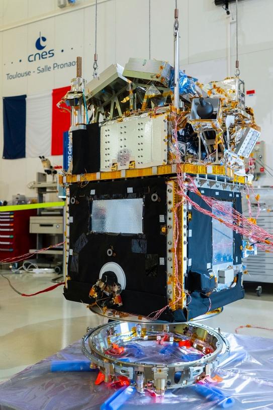 Test de l'interface lanceur du satellite Taranis