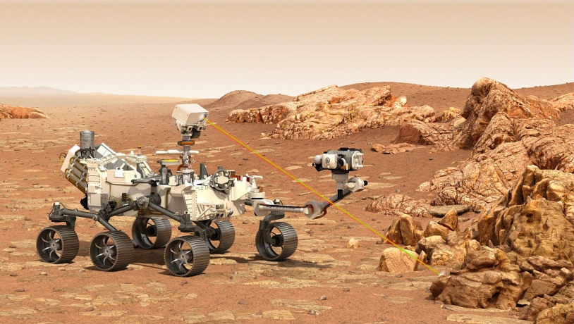 Le rover Perseverance de la mission Mars2020