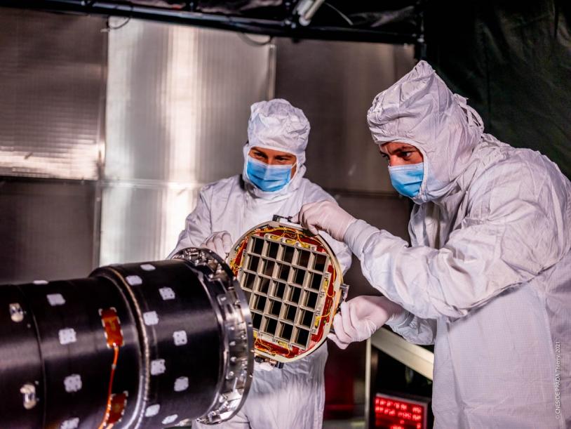 Optique à facettes du télescope MXT du satellite SVOM