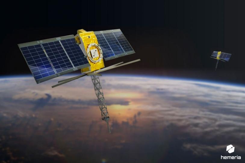 Satellites de la constellation Kinéis